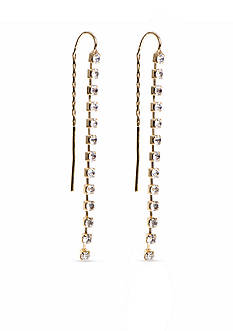 Anne Klein Threader Earrings