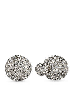 Anne Klein Fireball Front-To-Back Earrings