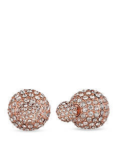 Anne Klein Fireball Front To Back Earrings