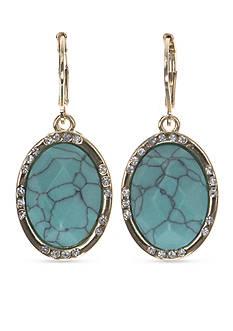 Anne Klein Turquoise Drop Earrings