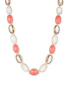 Anne Klein Coral Collar Necklace