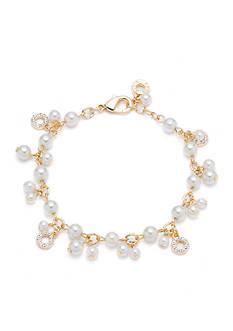 Anne Klein Pearl Shaky Bracelet
