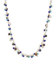 Anne Klein Gold-Tone All Around Collar Necklace