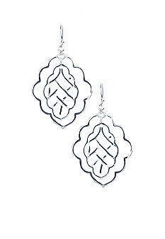 Belk Silverworks Open Double Filigree Earrings