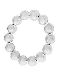 Kim Rogers Silver-Plated Stretch Bracelet