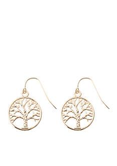 Kim Rogers Tree of Life Drop Earrings