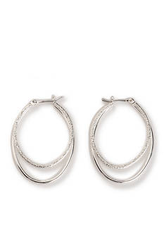 Kim Rogers Smith Oval Hoop Earrings