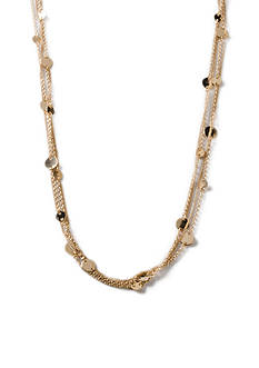 Kim Rogers Gold-Tone Hannah Mutlistrand Necklace