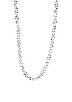 Kim Rogers Silver Plate Necklace with Beads