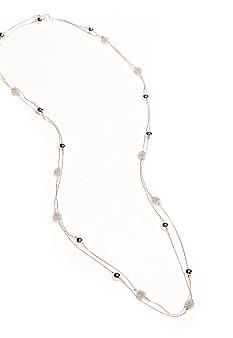 Kim Rogers 72-in. Silver-Plated Fashion Necklace