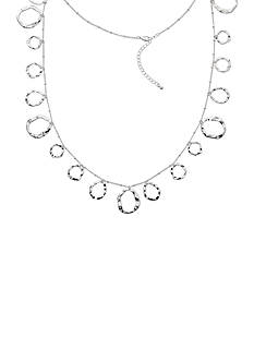 Kim Rogers Silver-Tone Fashion Necklace