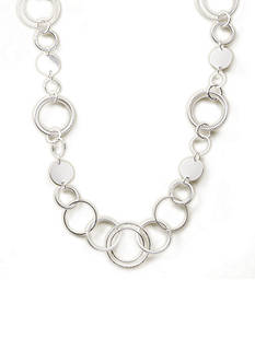 Kim Rogers Rings and Discs Chain Necklace