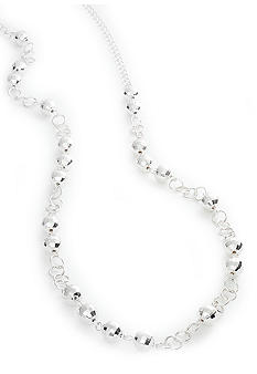 Kim Rogers Two-Tone Disco Ball Link Chain