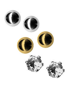 Kim Rogers® Trio Ball  Earrings Set