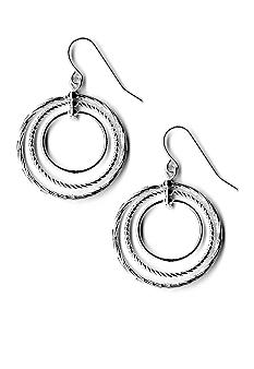 Kim Rogers Triple Circle Drop Earrings
