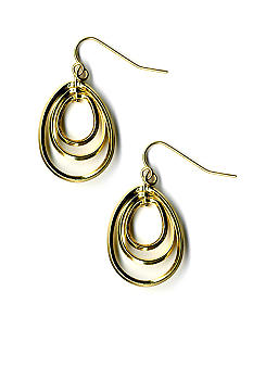 Kim Rogers Triple Loop Drop Earrings