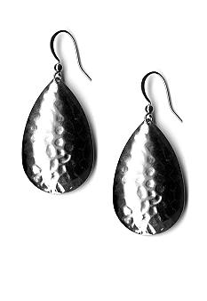Kim Rogers Hammered Teardrop Earrings