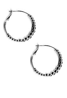 Kim Rogers Beaded Hoop Earrings