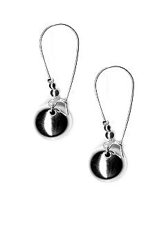 Kim Rogers Polished Ball On Wire Earrings