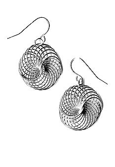 Kim Rogers Wire Knot Drop Earrings