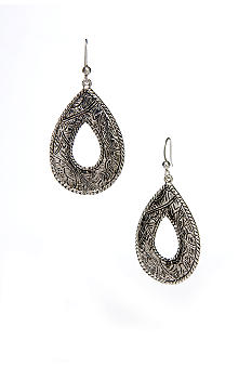 Kim Rogers Sensitive Skin Teardrop Loop Earrings