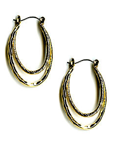Kim Rogers Double Hoop Earrings