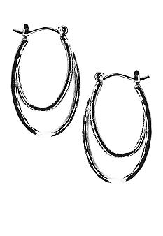 Kim Rogers Double Oval Hoop Earrings