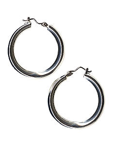 Kim Rogers Polished Click Hoop Earrings