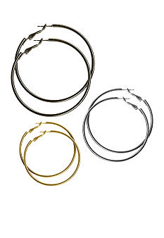 Kim Rogers Trio Hoop Earrings
