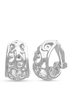 Kim Rogers Filigree Clip Earring