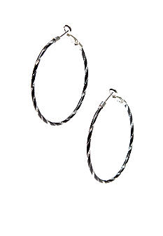 Kim Rogers® Hoop Earrings