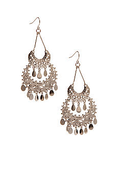 Kim Rogers Filigree Chandelier Drop Earrings