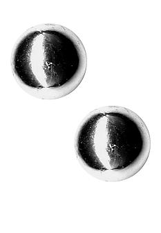 Kim Rogers Polished Ball Stud Earrings