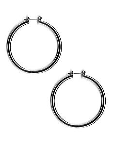 Kim Rogers Polished Hoop Earrings