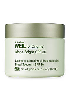 Dr. Andrew Weil for Origins™ Mega-Bright SPF 30 Skin Tone Correcting Oil-Free Moisturizer