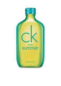 Calvin Klein Fragrances LIMITED EDITION ck one summer Eau de Toilette