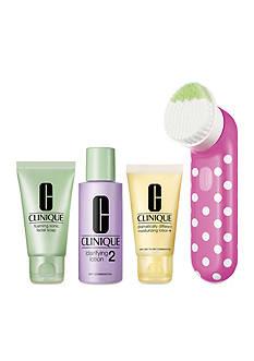 Clinique Clean Skin, Great Skin Sonic Brush Set (Skin Type I/II)