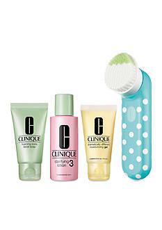 Clinique Clean Skin, Great Skin Sonic Brush Set (Skin Type III/IV)