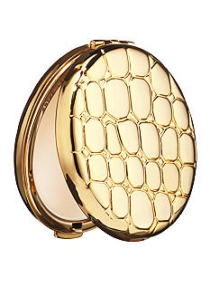 Estee Lauder Golden Alligator Slim Compact Pressed Powder