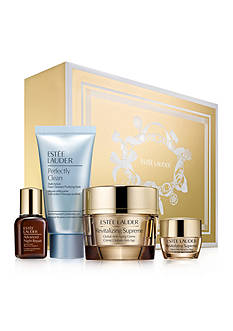 Estée Lauder Global Anti-Aging Essentials with full size Revitalizing Supreme