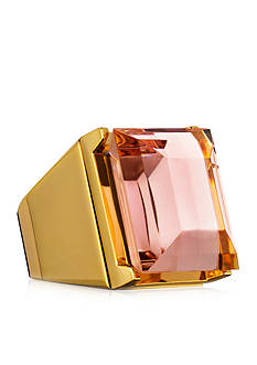 Estée Lauder Limited Edition Golden Cocktail Ring Solid Perfume Compact