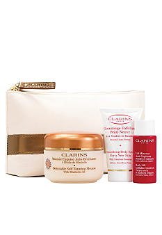 Clarins Sun-Kissed Beauty Delectable Self Tanning Kit for Face & Body