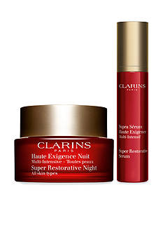 Clarins Super Restorative Anti-Aging Nighttime Duo