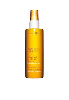 Clarins Sunscreen Spray Gentle Milk-Lotion Progressive Tan SPF 20