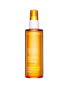Clarins Sunscreen Spray Oil-Free Progressive Tanning SPF 15