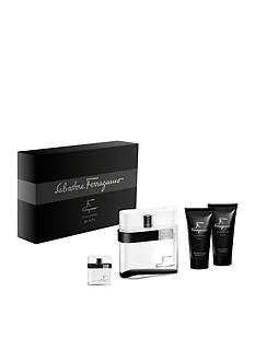 Salvatore Ferragamo F by Ferragamo Black Gift Set