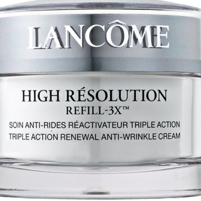 Wrinkle Cream: 2.5Oz Lancôme HIGH RES 3X FACE 2.5