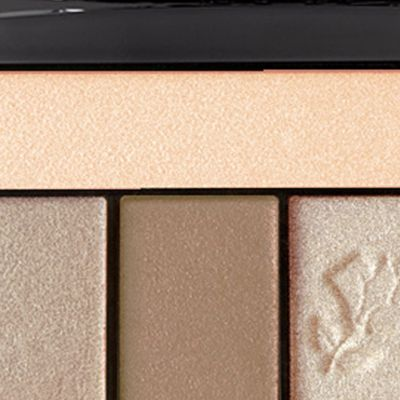 Powder Eyeshadow: Beige  Brulee Lancôme Color Design 5 Pan Eyeshadow Palette