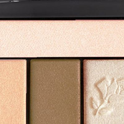 Powder Eyeshadow: French Nude Lancôme Color Design Eye Brightening All-In-One 5 Shadow & Liner Palette