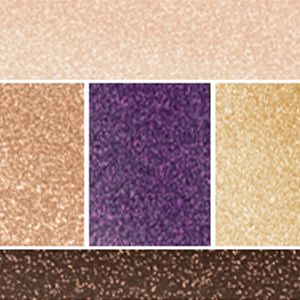 Powder Eyeshadow: Luminous Violet Lancôme Color Design Eye Brightening All-In-One 5 Shadow & Liner Palette